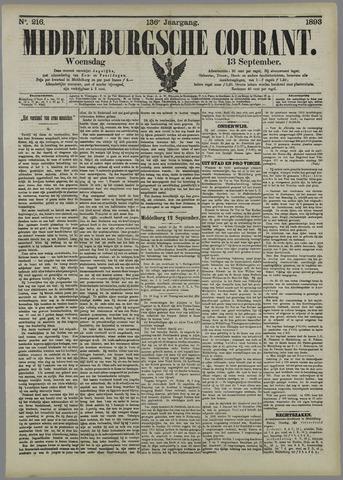 Middelburgsche Courant 1893-09-13