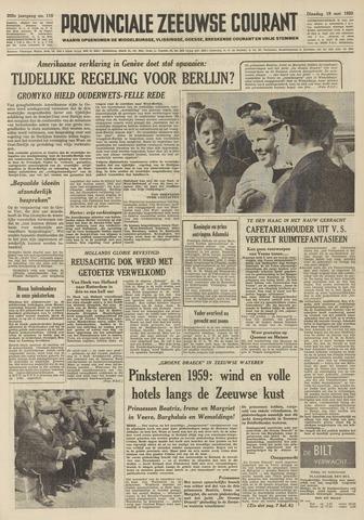 Provinciale Zeeuwse Courant 1959-05-19