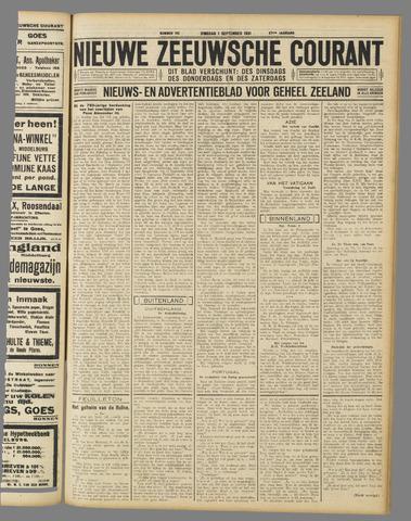 Nieuwe Zeeuwsche Courant 1931-09-01