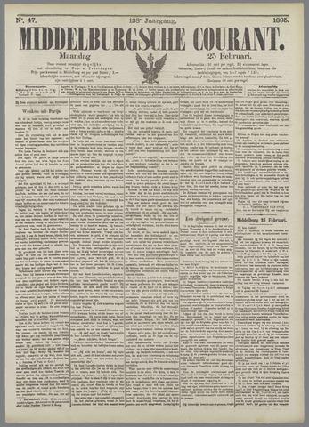 Middelburgsche Courant 1895-02-25