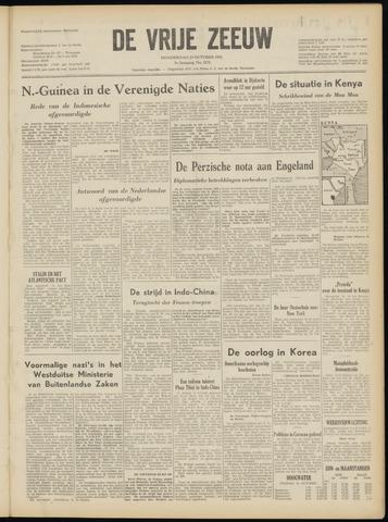 de Vrije Zeeuw 1952-10-23