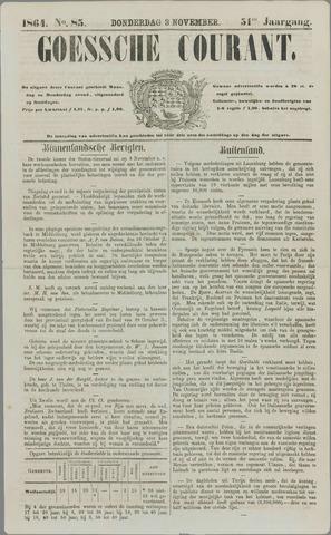 Goessche Courant 1864-11-03