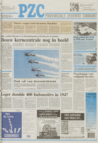 Provinciale Zeeuwse Courant 1995-08-09