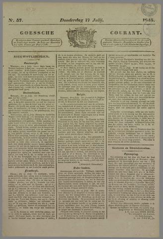 Goessche Courant 1845-07-17