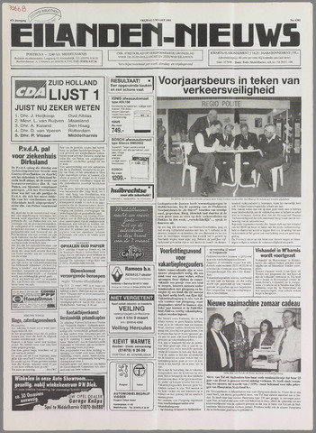 Eilanden-nieuws. Christelijk streekblad op gereformeerde grondslag 1995-03-03