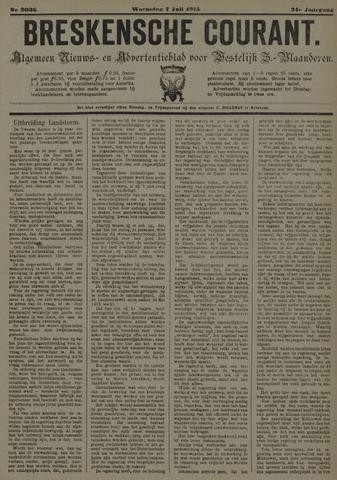 Breskensche Courant 1915-07-07