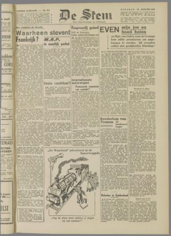 de Stem 1946-01-22