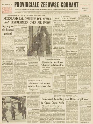 Provinciale Zeeuwse Courant 1964-01-15
