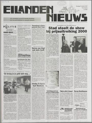 Eilanden-nieuws. Christelijk streekblad op gereformeerde grondslag 2000-10-17