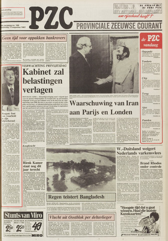 Provinciale Zeeuwse Courant 1987-08-13