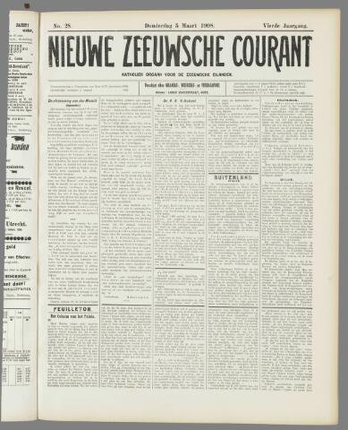 Nieuwe Zeeuwsche Courant 1908-03-05