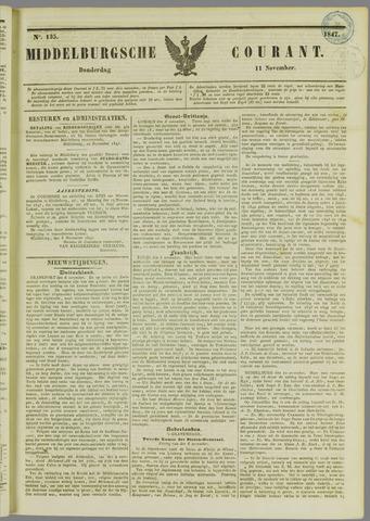 Middelburgsche Courant 1847-11-11