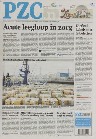 Provinciale Zeeuwse Courant 2008-08-05