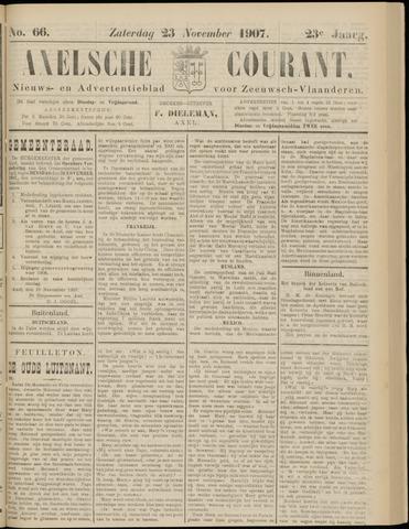 Axelsche Courant 1907-11-23