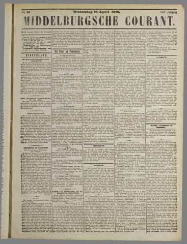 Middelburgsche Courant 1919-04-16