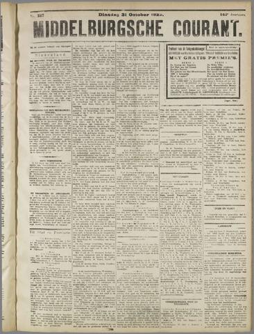 Middelburgsche Courant 1922-10-31