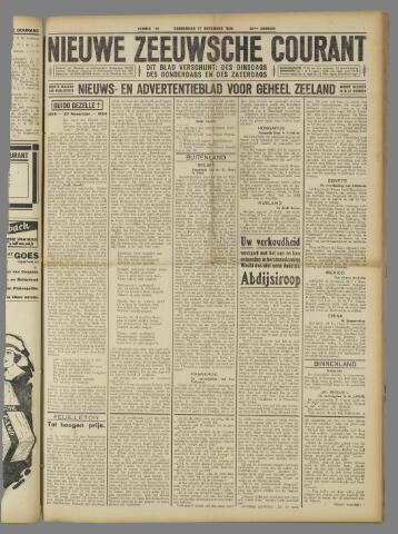 Nieuwe Zeeuwsche Courant 1924-11-27