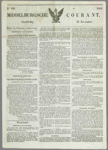 Middelburgsche Courant 1865-11-30