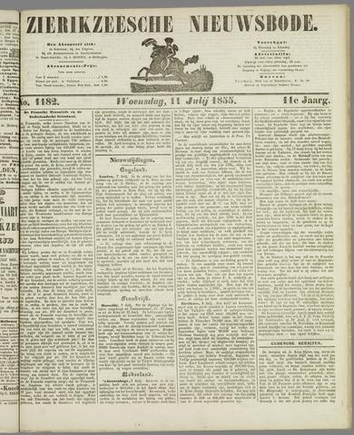 Zierikzeesche Nieuwsbode 1855-07-11
