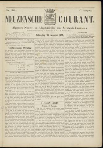 Ter Neuzensche Courant. Algemeen Nieuws- en Advertentieblad voor Zeeuwsch-Vlaanderen / Neuzensche Courant ... (idem) / (Algemeen) nieuws en advertentieblad voor Zeeuwsch-Vlaanderen 1877-01-27