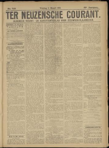 Ter Neuzensche Courant. Algemeen Nieuws- en Advertentieblad voor Zeeuwsch-Vlaanderen / Neuzensche Courant ... (idem) / (Algemeen) nieuws en advertentieblad voor Zeeuwsch-Vlaanderen 1921-03-11