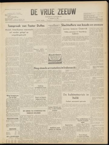 de Vrije Zeeuw 1954-01-13