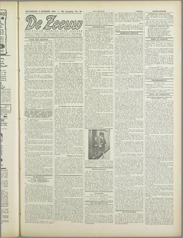 De Zeeuw. Christelijk-historisch nieuwsblad voor Zeeland 1944-01-08
