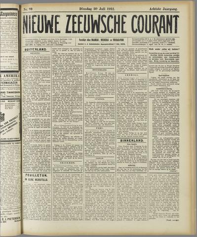 Nieuwe Zeeuwsche Courant 1912-07-30
