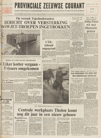 Provinciale Zeeuwse Courant 1969-04-14