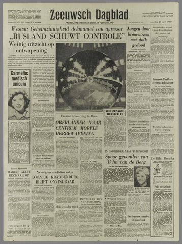Zeeuwsch Dagblad 1960-04-23