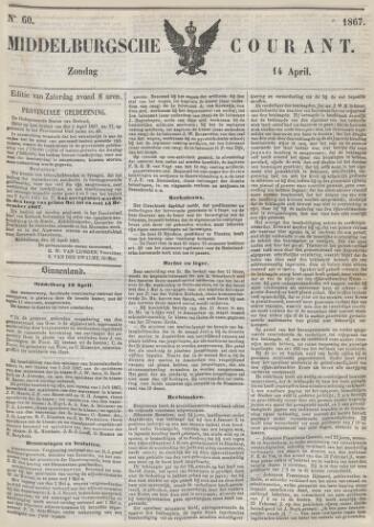 Middelburgsche Courant 1867-04-14
