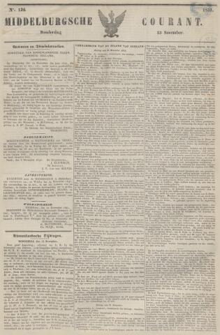 Middelburgsche Courant 1851-11-13