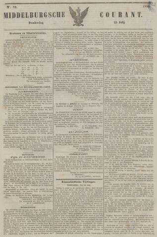 Middelburgsche Courant 1850-07-25