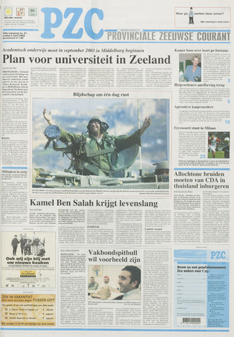 Provinciale Zeeuwse Courant 2002-04-05