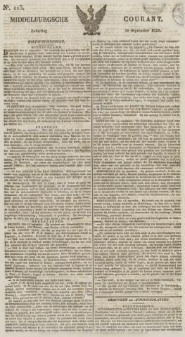 Middelburgsche Courant 1829-09-19