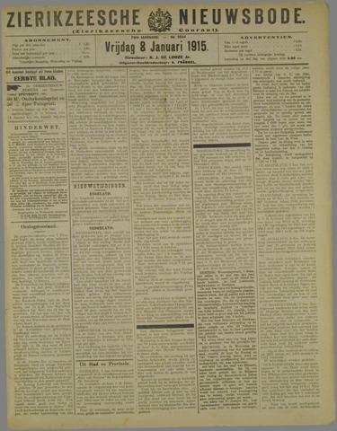 Zierikzeesche Nieuwsbode 1915-01-08