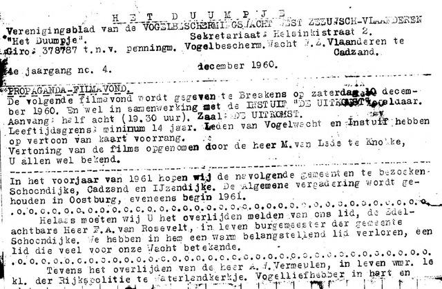 t Duumpje 1960-12-01
