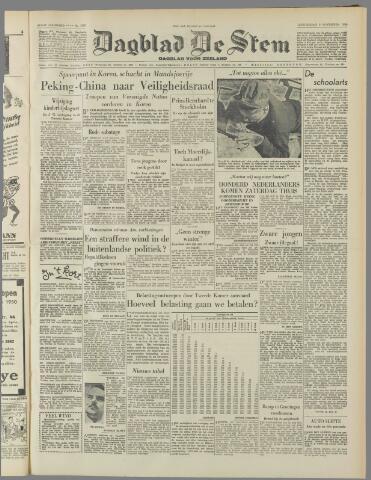 de Stem 1950-11-09