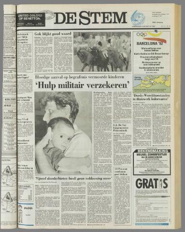 de Stem 1992-08-05