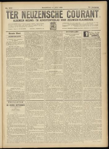 Ter Neuzensche Courant. Algemeen Nieuws- en Advertentieblad voor Zeeuwsch-Vlaanderen / Neuzensche Courant ... (idem) / (Algemeen) nieuws en advertentieblad voor Zeeuwsch-Vlaanderen 1932-07-11