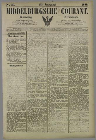 Middelburgsche Courant 1888-02-15