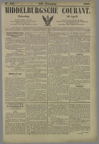 Middelburgsche Courant 1888-04-28