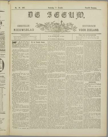 De Zeeuw. Christelijk-historisch nieuwsblad voor Zeeland 1897-12-09