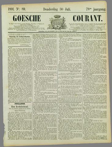 Goessche Courant 1891-07-30