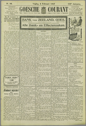 Goessche Courant 1927-02-04