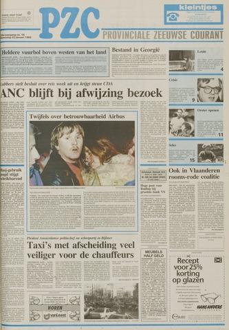 Provinciale Zeeuwse Courant 1992-01-22