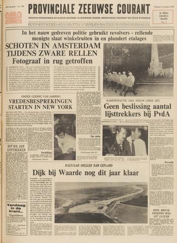 Provinciale Zeeuwse Courant 1970-08-25