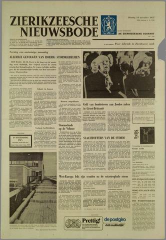 Zierikzeesche Nieuwsbode 1972-11-14
