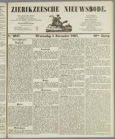 Zierikzeesche Nieuwsbode 1863-11-04