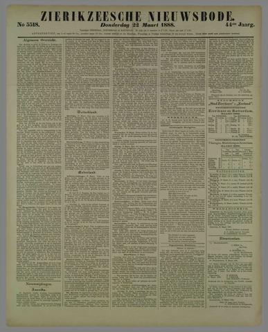 Zierikzeesche Nieuwsbode 1888-03-22